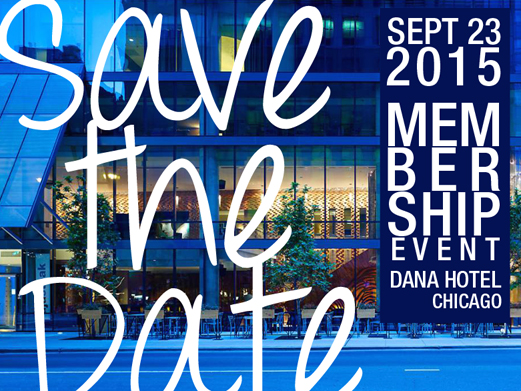 Save The Date - Sept 23, 2015
